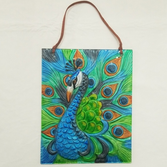 Peacock Glass Painting Designs